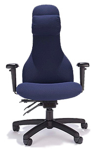 ESP Wells High Back Chair with Pillow