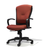 RFM Tuxedo Medium Back Chair