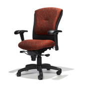 RFM Tuxedo Executive High Back Chair