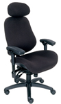 BodyBilt Intensive Use High-Back Chair W/Neckroll